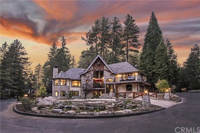 Single Family Homes for Sale at 27880 Peninsula Drive N Lake Arrowhead, California 92352 United States