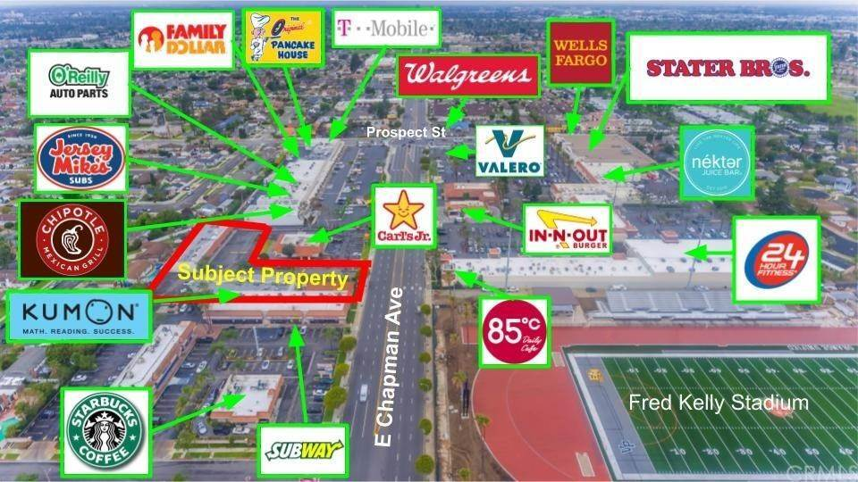 Commercial for Sale at 3538 East Chapman Avenue Orange, California 92869 United States