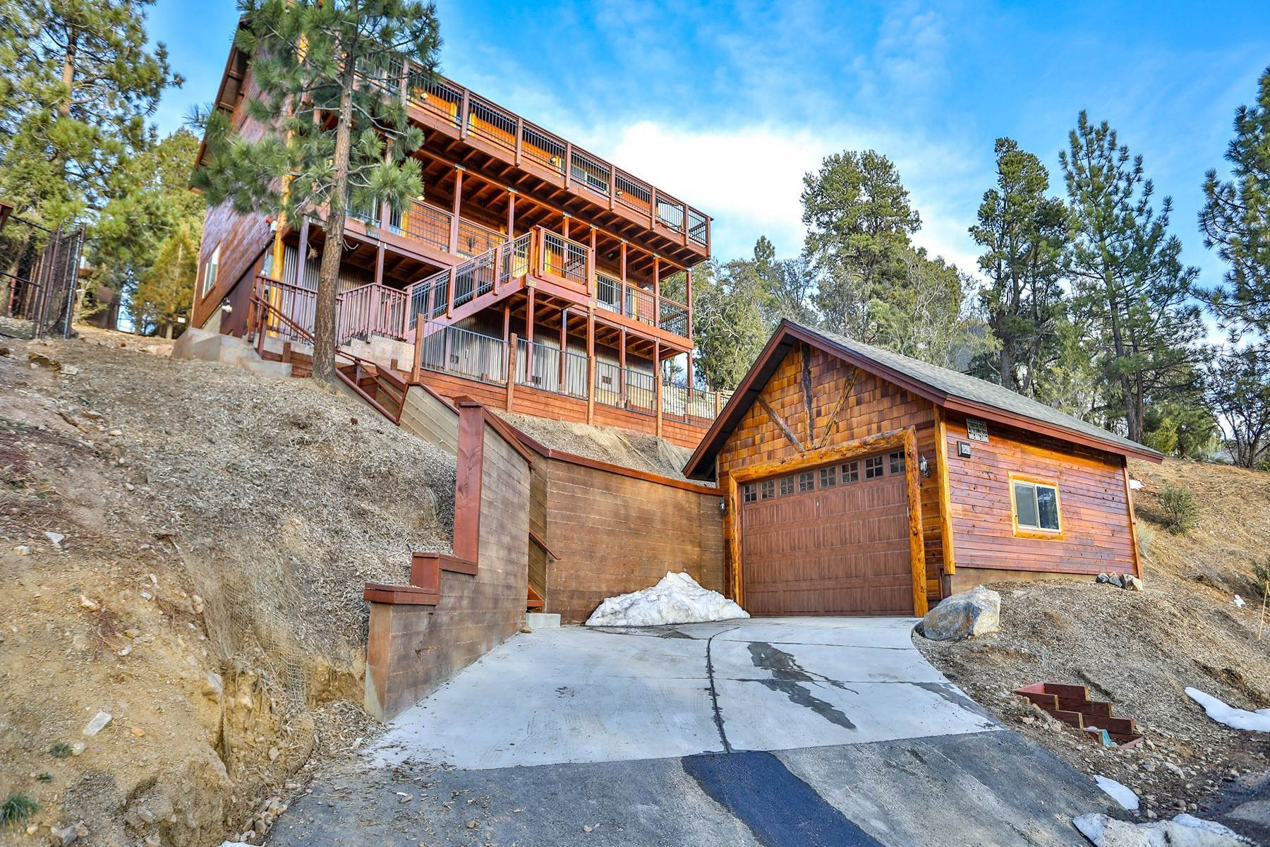 Single Family Homes for Sale at 43451 Sheephorn Road, Big Bear Lake, California 92315 43451 Sheephorn Road Big Bear Lake, California 92315 United States