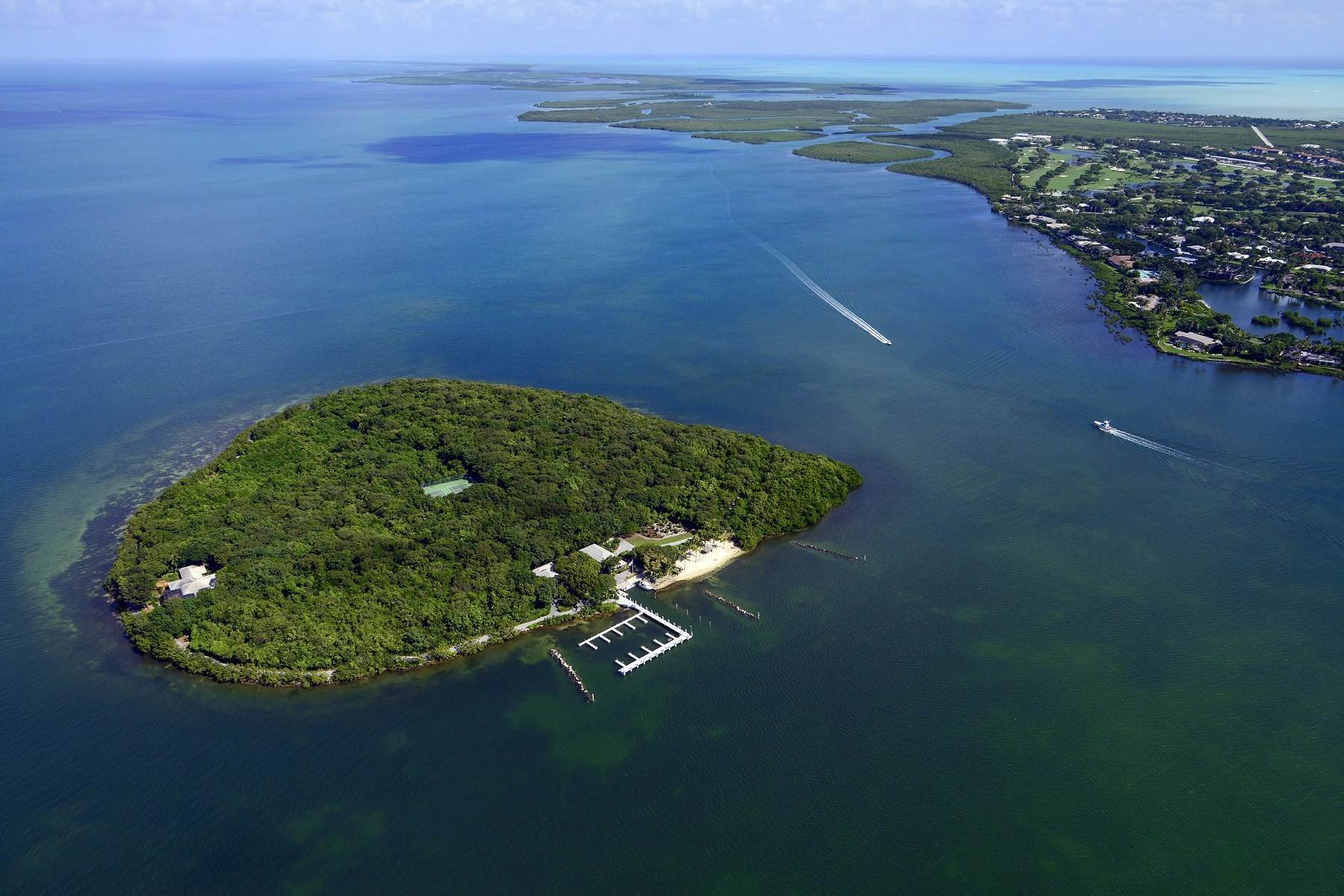 Property por un Venta en Pumpkin Key - Private Island, Key Largo, FL Pumpkin Key - Private Island Key Largo, Florida 33037 Estados Unidos
